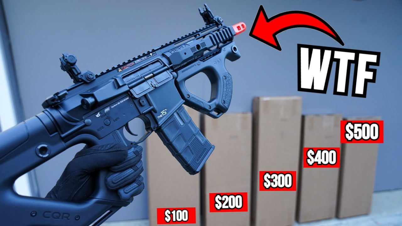 I Bought $1,500 of Airsoft Mystery Boxes that Keep Getting More Expensive!