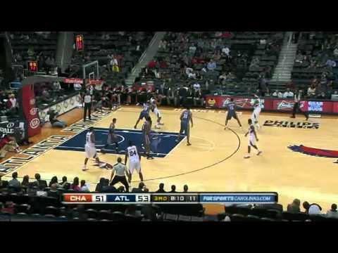 Charlotte Bobcats vs Atlanta Hawks Highlights (Presean)2011-2012