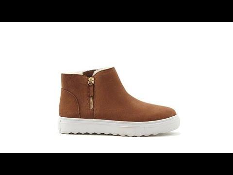 J/Slides NYC Poppy Waterproof Leather