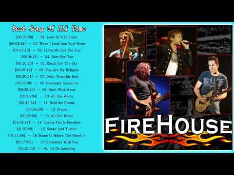 Firehouse Greatest Hits Album - Firehouse Best Songs - Firehouse New Playlist 2018