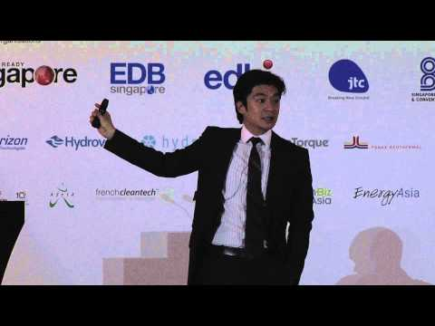 Reinventing the energy future through clean technology investment - Andrew Chung