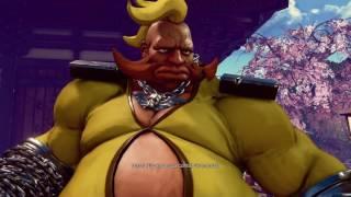Street Fighter 5 - Modo Individual : Fome Extrema! O Fugitivo Obstinado ( Birdie )