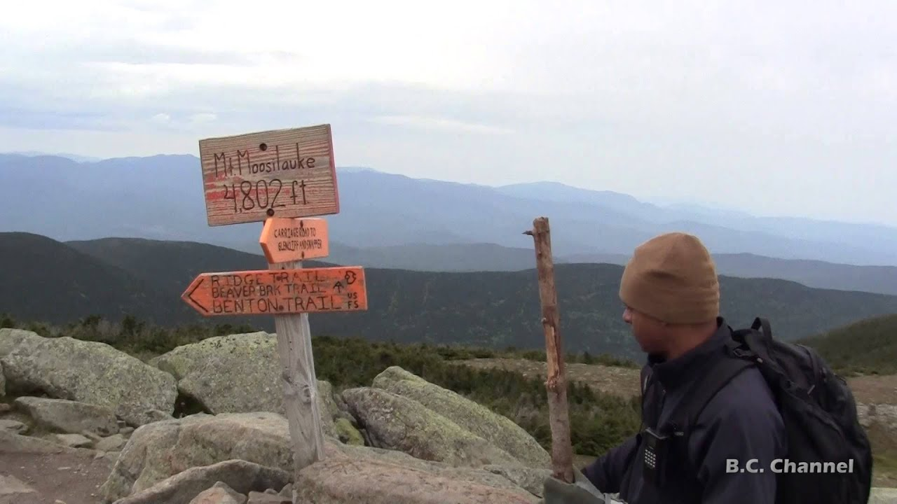 Summit To The Moose Hiking Mt Moosilauke Nh