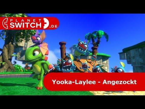 Yooka-Laylee (Switch) - Angezockt