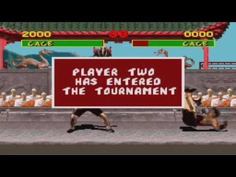 Mortal Kombat 1 (SNES) - How to crash the game (Glitch) |