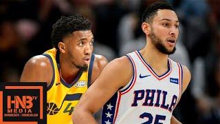 Philadelphia Sixers Vs Utah Jazz - Full Game Highlights | November 6, 2019-20 Nba Season