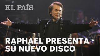 RAPHAEL presenta en Madrid la gira de su nuevo disco 'Resinphónico'