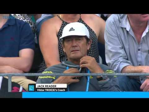 ATP 250 Sydney 2015   Final Kukushkin Vs Troicki
