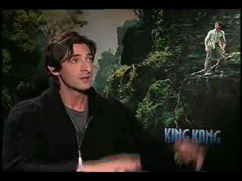 Adrien Brody interview for King Kong