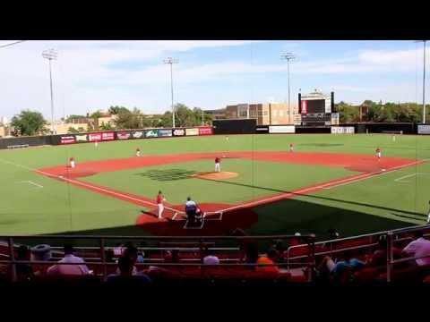 Kyle Chapman Baseball Game at Texas Tech at Premier Baseball Tournament 2014