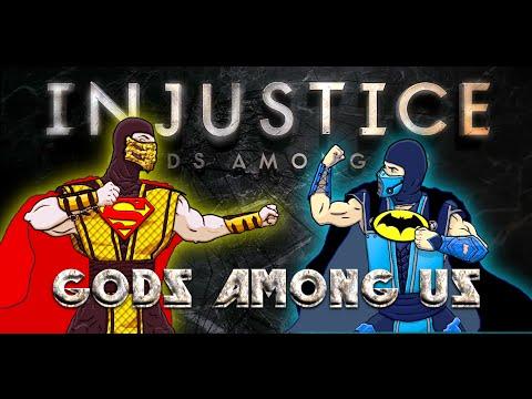 Scorpion & Sub-Zero Play - INJUSTICE: Gods Among Us | MKX GAMEPLAY PARODY