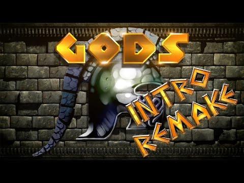 GODS INTRO REMAKE IN 1080p.