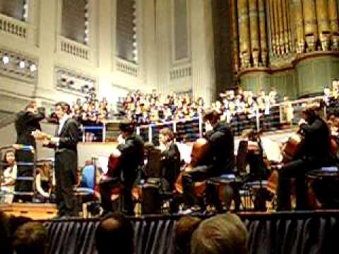 UoB Choir and Philarmonic Orchestra - Second Part (Fauré)