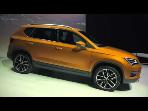 seat ateca seat new suv 4x4 youtube. Black Bedroom Furniture Sets. Home Design Ideas
