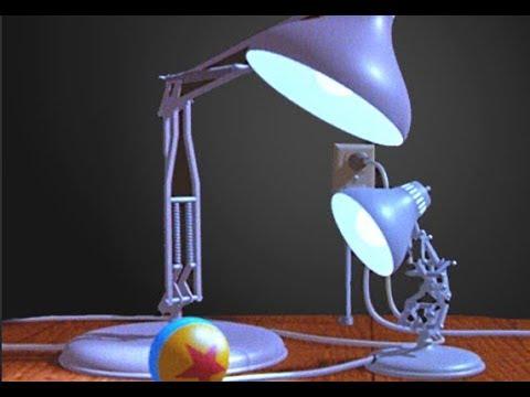 Пиксар мультфильм про лампу