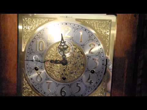 Howard Miller 610-403 Chain-Driven Grandfather Clock With Beveled Front Glass