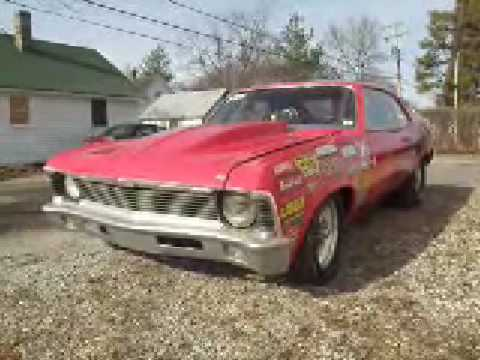 Chevy Vega Drag Car For Sale