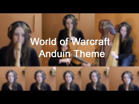 World of Warcraft: Legion - Anduin (Cover with harp & more)