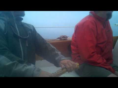Foul Weather Sailing on Gypsy