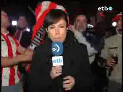 Horny Fan Behind Reporter
