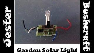 Old Garden Solar Light - Any Ideas ?