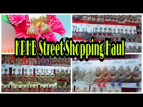 KPHB Street Shopping Haul - Hyderabad Street Shopping - Huge jewellery Under Rs.100