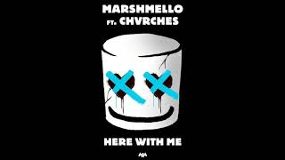 Marshmello ft. chavrches #here with me (official music video)