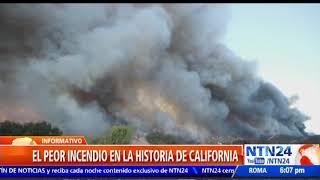 Incendio en California deja al menos 23 muertos