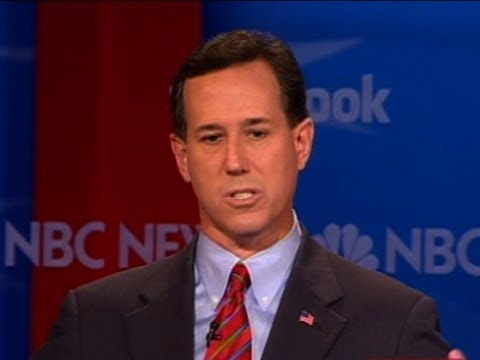 Santorum, Romney Questioned Over Gay Rights