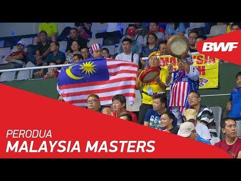 Perodua Malaysia Masters 2018   Promo   BWF 2018