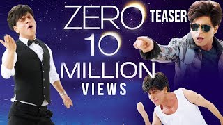 Shahrukh Khan's ZERO Teaser BREAKS Record In Less Than 24 Hours