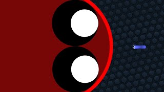 Slither.io 1 Tiny Troll Snake vs Giant Snakes Epic Slitherio Gameplay