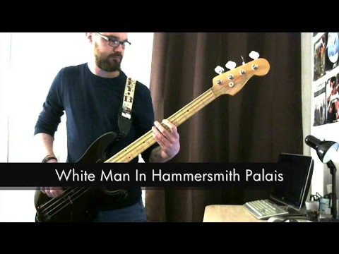 The Clash - (White Man) In Hammersmith Palais - Bass Cover