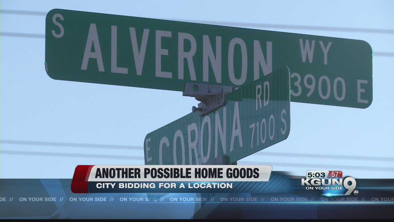 Home Goods Distribution Center May Be Coming To Tucson Youtube