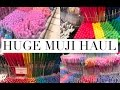 HUGE Muji Stationery Haul!