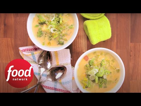Healthified Broccoli Soup | Food Network
