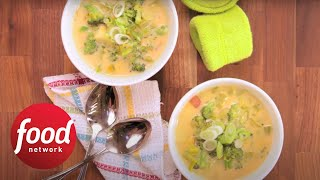Healthified Broccoli Soup | Food Network