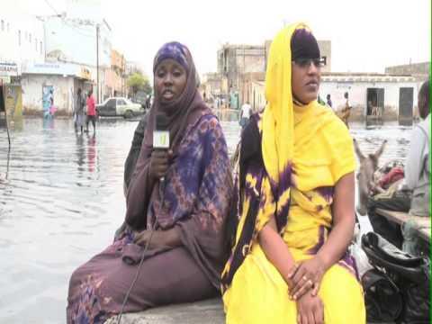 Nouakchott dans les eaux