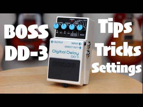 Boss DD3 Tips, Tricks and Strange Settings For a Digital Delay (Settings on Screen)