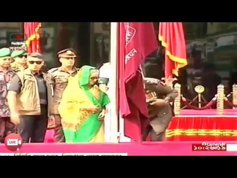 Prime Minister Sheikh Hasina visiting BGB HQ,  Peelkhana