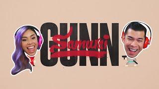 SKILLS SHOTS?! - Samurai Gunn - Husband vs Wife