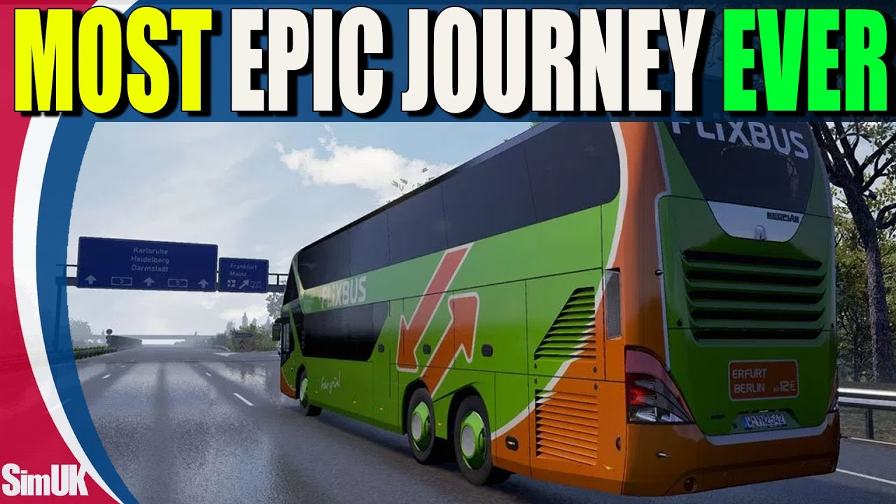 Bus Berlin Erfurt Fernbus Coach Simulator Everything That Can Go Wrong With Fernbus In One Video