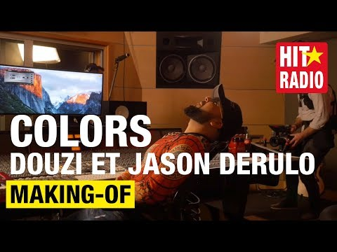 "MAKING-OF DU HIT ""COLORS"" DE DOUZI ET JASON DERULO / RUSSIA 2018"