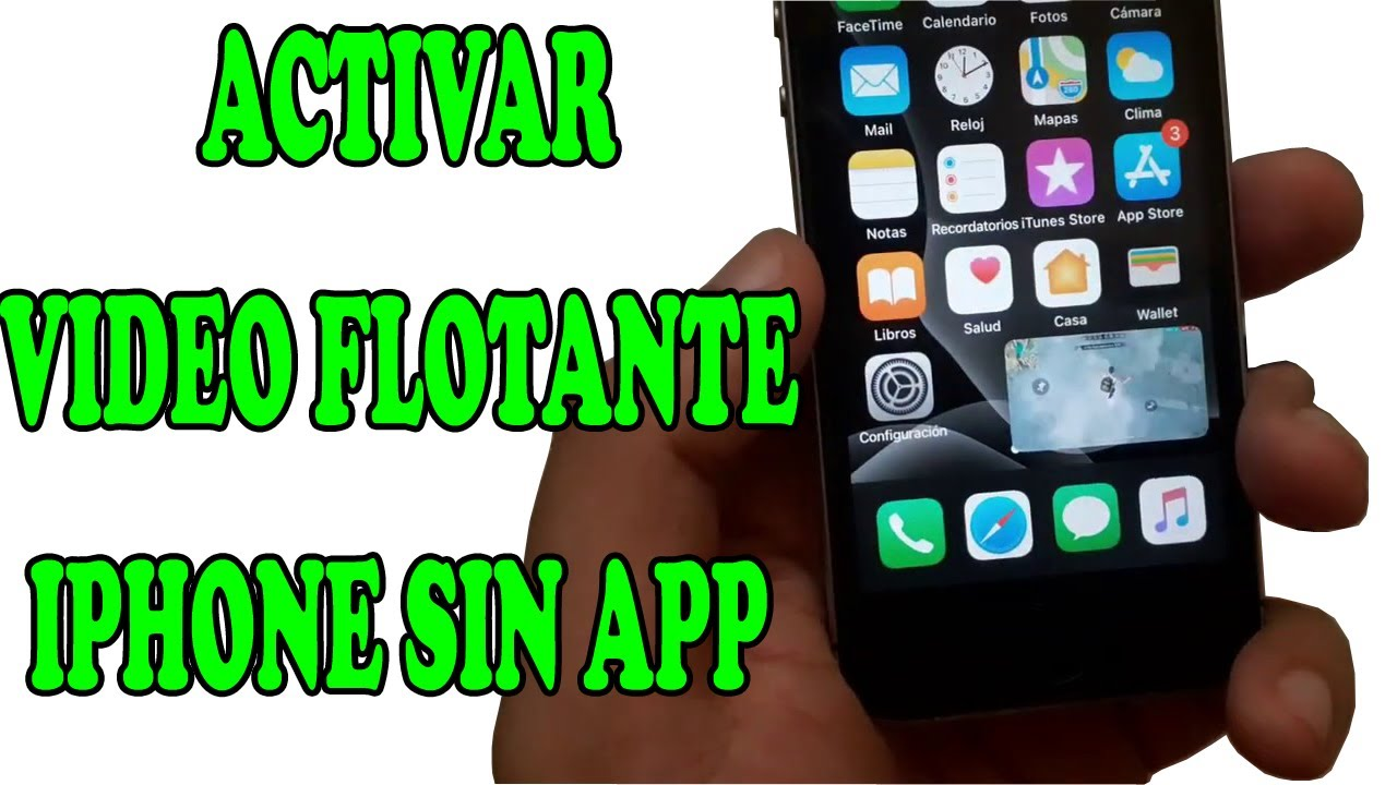 VIDEO FLOTANTE IPHONE SIN APP, IOS 14 picture in picture ...