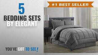 Top 10 Elegant Bedding Sets [2018]: Luxury Bed-in-a-Bag Comforter Set on Amazon! Elegant Comfort