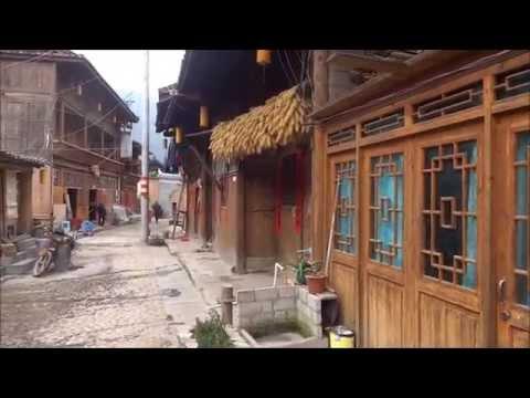 Shiqiao: Small Miao Village in Guizhou, China  石橋村: 貴州省のミャオ族村