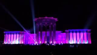 Лазерное шоу на ВДНХ 10. 10. 2014