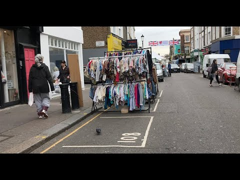 London Thrift Shopping ... First Impressions