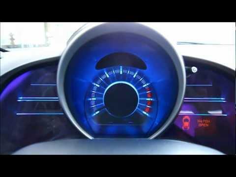 2012 Honda CR-Z儀錶板啟閉畫面