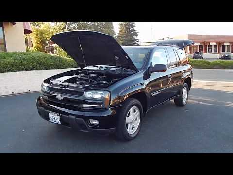 2002 Chevrolet Trailblazer LTZ 4X4 1 Owner.  Video Review And Walk Around.